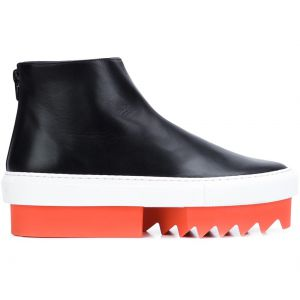 Ankle boot de couro Givenchy