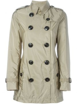 Trench coat impermeável com cinto Burberry