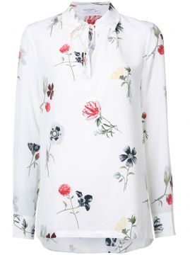 Camisa de seda floral Equipment