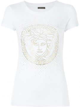 Camiseta slim fit Versace