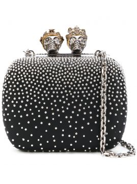 Clutch Queen & Queen mini Alexander McQueen