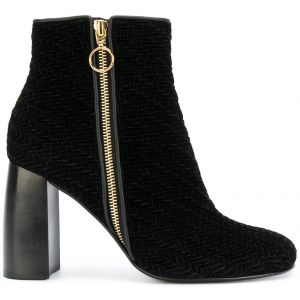 Ankle boot de veludo Stella McCartney