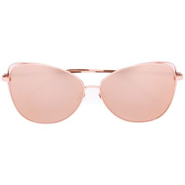 oversized sunglasses Linda Farrow