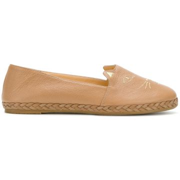 Espadrille Cat face Charlotte Olympia