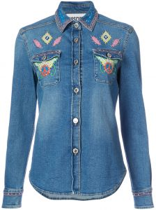 Camisa jeans Moschino