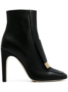 Ankle boot de couro  Hill  Sergio Rossi