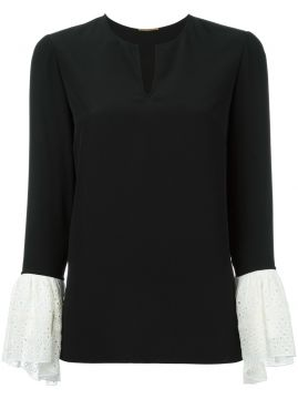 Blusa de seda Saint Laurent