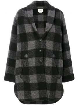 checked coat Isabel Marant Étoile