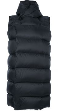 padded hooded gilet Rick Owens