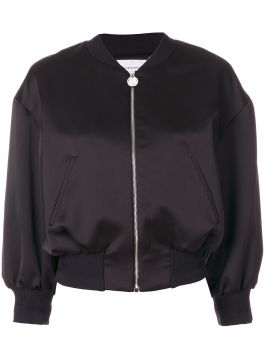 Jaqueta bomber cropped Carven