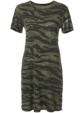 Vestido camuflado Current/Elliott