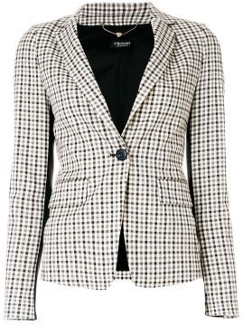 Blazer xadrez Twin-Set