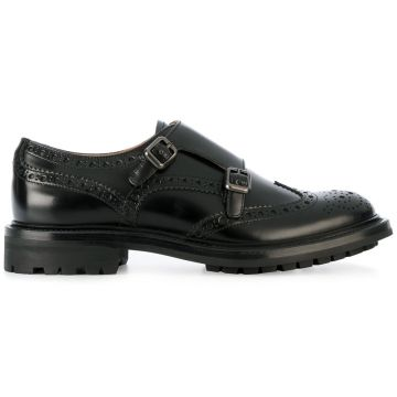 double-buckled loafers Church s