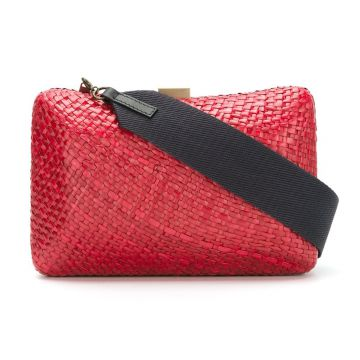Clutch de palha Serpui