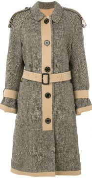 Trench coat de tweed Burberry