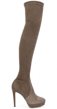 Bota over-the-knee de camurça Mason Jimmy Choo