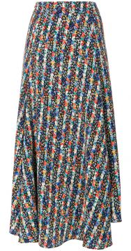floral pleated skirt Vanessa Bruno