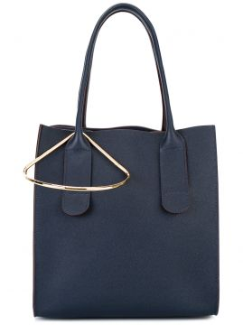tote bag with gold tone detail Roksanda