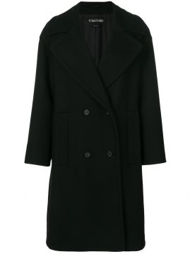 double breasted coat Tom Ford