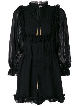 ruffled hem playsuit Zimmermann