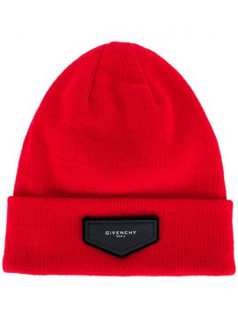 Gorro com patch Givenchy