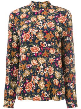 floral embroidered shirt Vanessa Bruno