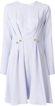 pleated button dress Carven