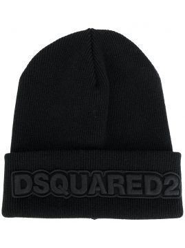 Gorro com bordado Dsquared2