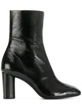 Ankle boot de couro Barbara Bui