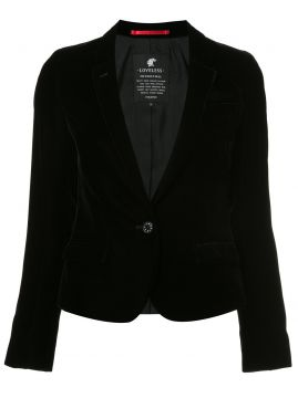 Blazer de veludo Loveless