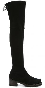 Bota over the knee de camurça Stuart Weitzman