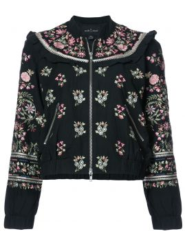Jaqueta bomber floral Needle & Thread