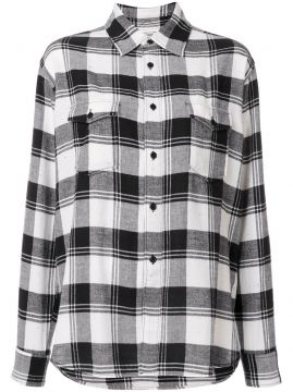 Camisa xadrez Saint Laurent