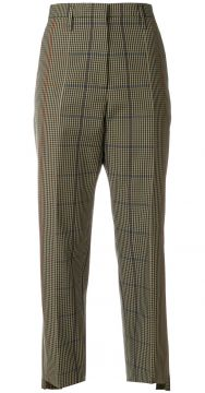 checked straight trousers Golden Goose Deluxe Brand
