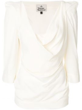 structured shoulder blouse Vivienne Westwood
