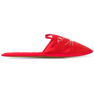 Slipper House Cat Charlotte Olympia
