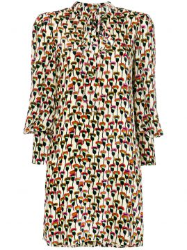 Poppy print shift dress Chloé