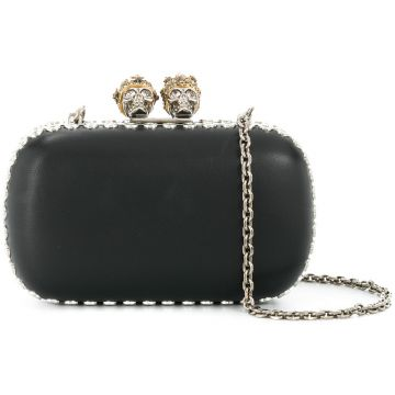 Clutch  Queen and King  Alexander McQueen