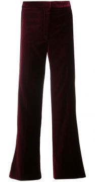 Calça cropped flare Stella McCartney