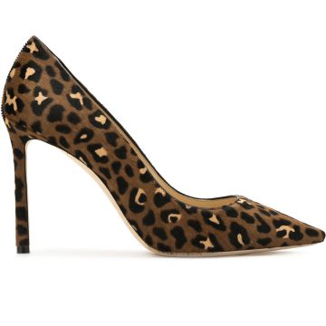 Scarpin animal print Jimmy Choo