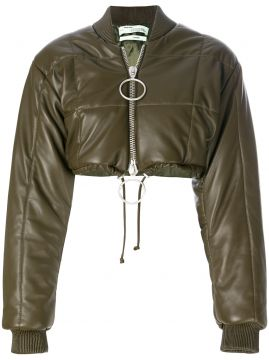 Jaqueta bomber cropped Off-White
