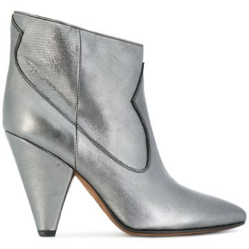 Ankle boot metálica Buttero