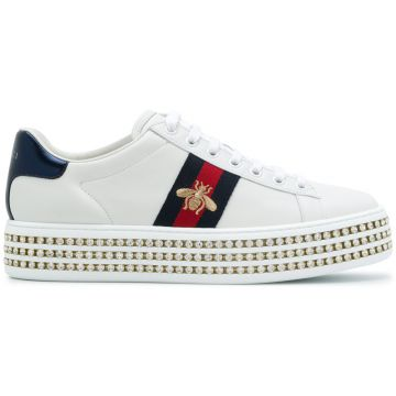 Ace crystal embellished sneakers Gucci