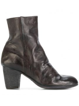 Ankle boot de couro Ink