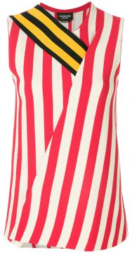 contrast panel striped top Calvin Klein 205W39nyc