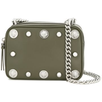 studded shoulder bag Versus