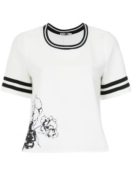 Blusa texturizada com estampa Pop Up Store