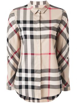 Camisa House Check Burberry