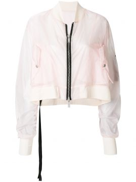 Jaqueta bomber cropped Unravel Project