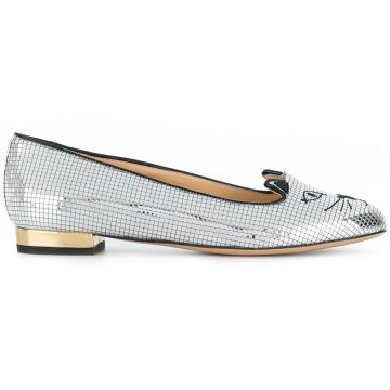 Disco Kitty slippers Charlotte Olympia